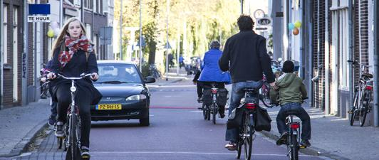 Evaluatie snelheid in fietsstraten