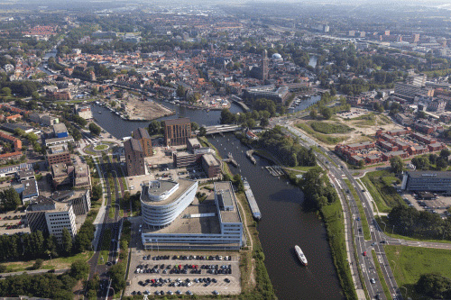 Luchtfoto Zwolle